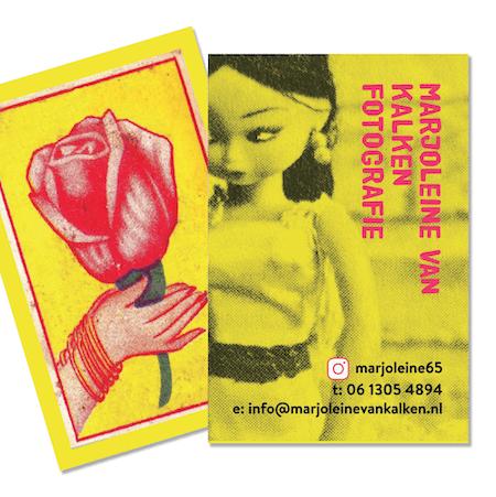 Grafisch ontwerp visitekaartjes