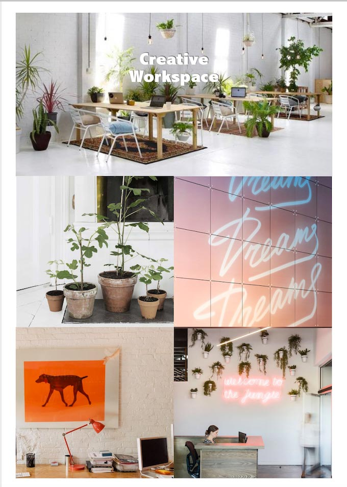 kektrendz interieurtrend 2020 creatieve werkplek thuiswerkplek